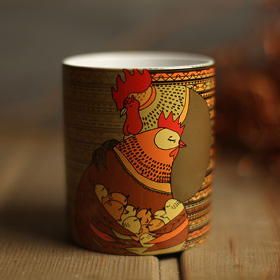 cock presentville gift cup